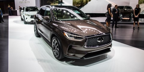 2018 Infiniti QX50 fully unveiled in LA