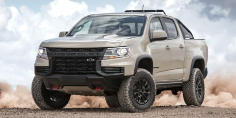 2021 Chevrolet Colorado ZR2 revealed in the US