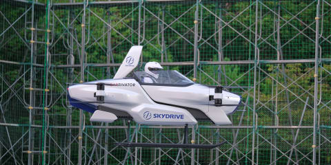 """Flying car"" publicly tested in Japan. Is this finally the real deal?"