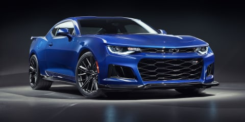 Chevrolet Camaro ZL1 coming to Australia with 480kW