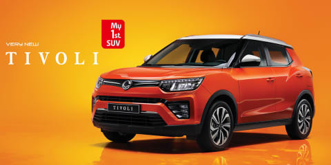 SsangYong Tivoli updated revealed, here in Q3 - UPDATE