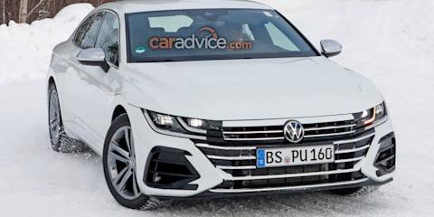 2021 Volkswagen Arteon R spied