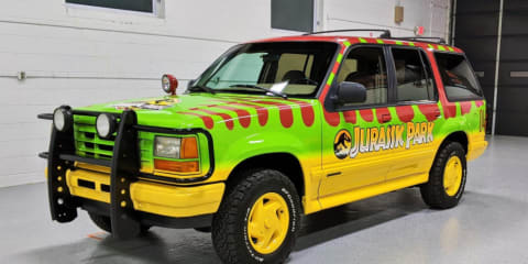 Jurassic Park tribute Ford Explorer for sale. Spared no expense.