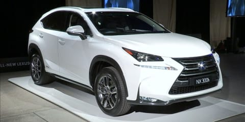 Lexus NX Australian Good Design Awards Reveal