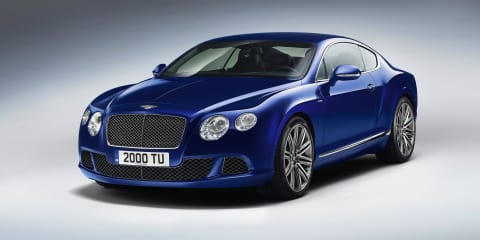 Bentley Continental GT Speed: 329km/h luxury coupe revealed
