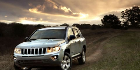 2012 Jeep Compass on sale in Australia Q4 2011