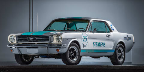 1965 Ford Mustang to drive itself up Goodwood hillclimb