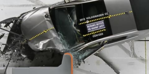 Audi, Lexus, Mercedes-Benz crunched by new crash test