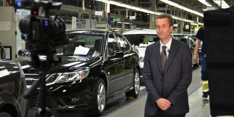 Saab head of production quits