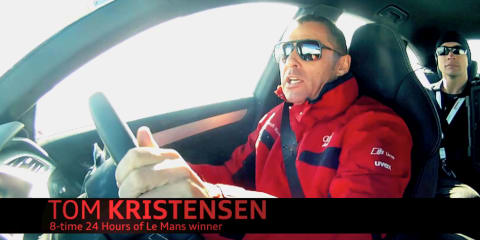 Audi A6 with Tom Kristensen - Video