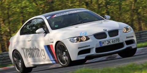 BMW RingTaxi M5 replaced with BMW M3