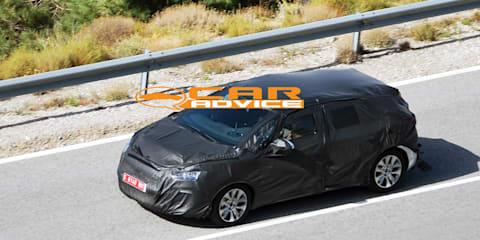 2011 Citroen C4 wagon prototype spied