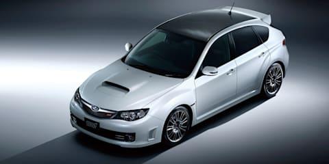 Subaru WRX STI Carbon Tokyo preview