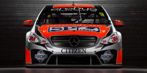 Mercedes-Benz V8 Supercars revealed by Erebus Motorsport