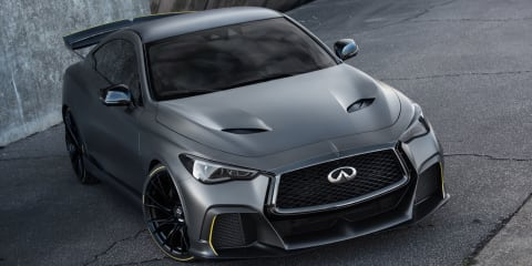 Infiniti Project Black S prototype unveiled