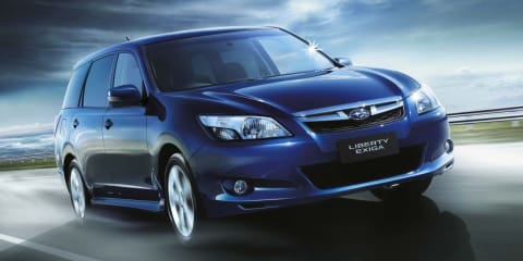 2013 Subaru Liberty Exiga offer adds features and value