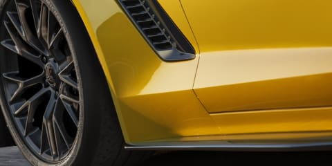 Chevrolet Corvette Z06 teased, confirmed for Detroit auto show