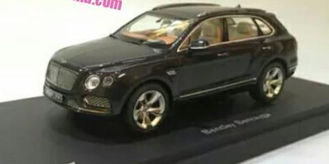 Bentley Bentayga SUV 'revealed' :: scale model showcases styling details