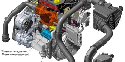 Renault's new 'Energy dCi 130' Diesel engine – derived from F1 Experience