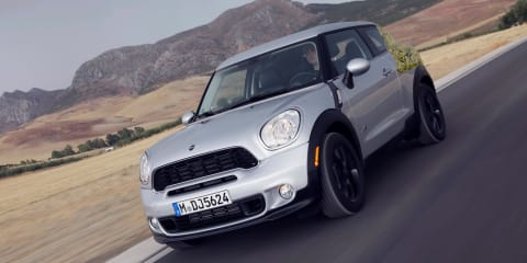 Mini Paceman: Countryman coupe in Australia by March