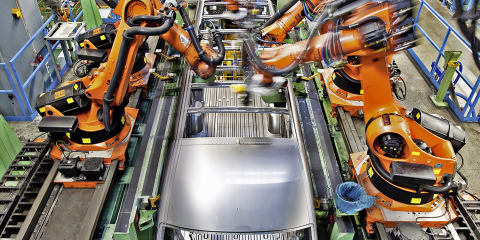 The dance of the machines: Inside Mercedes-Benz's Düsseldorf factory