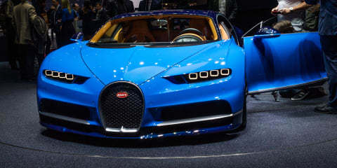 2016 Bugatti Chiron revealed ahead of Geneva debut
