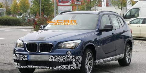 2011 BMW X1 M-Sport spy shots