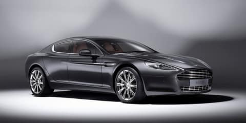Aston Martin launches Rapide Luxe