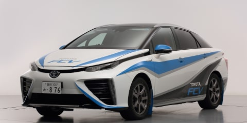 Toyota FCV to be zero car at final Japanese Rally Championship race