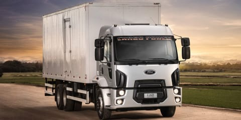 Ford closes factory in Brazil, exits heavy truck business