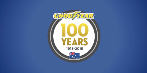 Goodyear celebrates a centenary in Australia