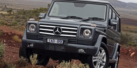 Mercedes-Benz G-Class broken by the Australian Outback