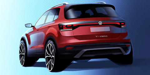 2019 Volkswagen T-Cross teased ahead of October 25 debut