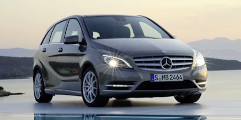 New Mercedes-Benz B-Class begins small-car sales assault