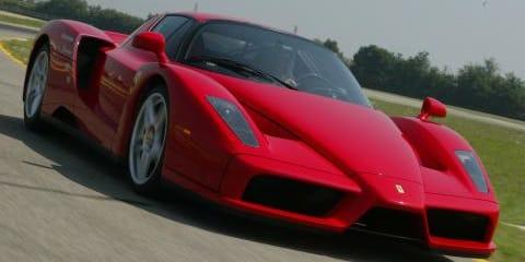 Ferrari Show in Sydney