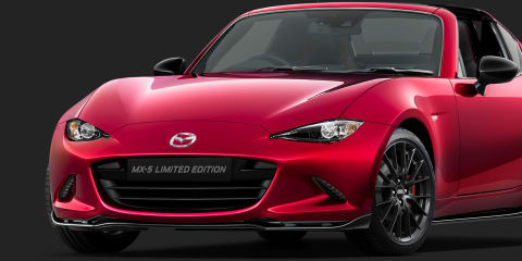 Mazda MX-5 RF Limited Edition detailed