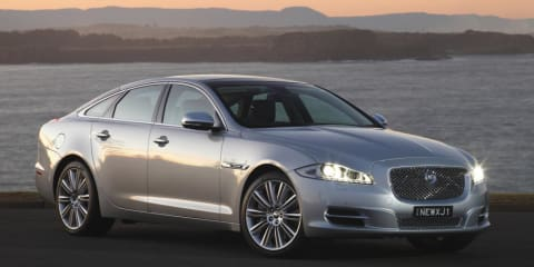 Jaguar XJ all-wheel drive system under development