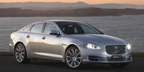 Jaguar XJ all-wheel drive system under development