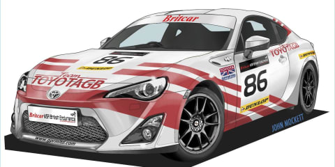 Toyota 86 reignites British racing flame