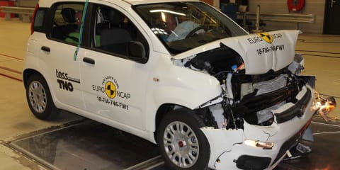Fiat Panda gets zero-star Euro NCAP safety rating