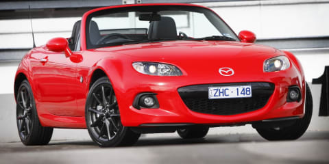 2013 Mazda MX-5 pricing and specifications