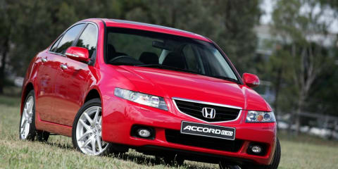 2003-08 Honda Accord Euro recall - 45,524 cars affected