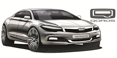 Qoros previews Europe-bound compact Chinese sedan