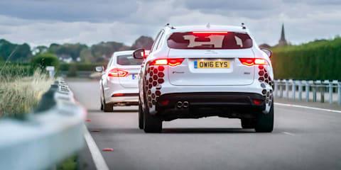 Jaguar Land Rover showcases new autonomous and connected vehicle technologies