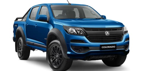 2020 Holden Colorado pricing and specs