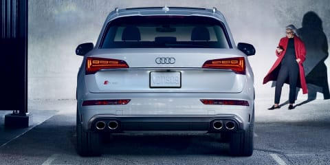 2021 Audi SQ5 revealed overseas with updated looks
