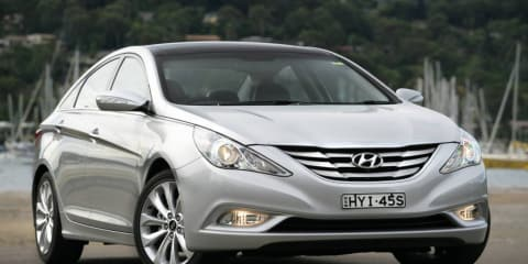 ANCAP: Hyundai i45 scores 5 stars, Holden Barina Spark 4 stars