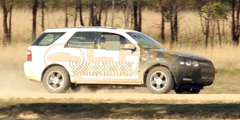 2011 Ford Territory Busted Testing