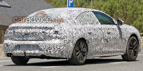 2018 Peugeot 508 interior and exterior spied