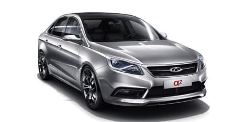 Chery Alpha 7 concept previews new Chinese small sedan